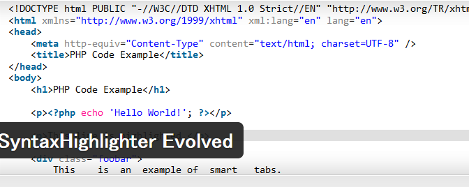 SyntaxHighlighterEvolvedがプレビューでエスケープされるのつらい
