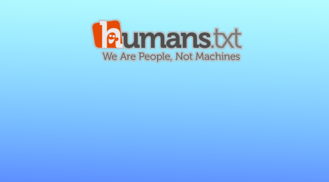 humans.txtを設置した