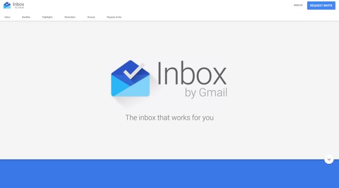 Inboxがやってきた