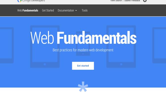 Web Fundamentalsが日本語で利用できるようになってた