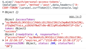 issue-parsonal-access-token